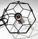 Подвесной светильник RUBY E27 чёрный, фото 7