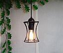 Подвесная люстра на 4-лампы SANDBOX-4 E27 чёрный, фото 4