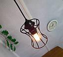 Подвесная люстра на 4-лампы SANDBOX-4 E27 чёрный, фото 6