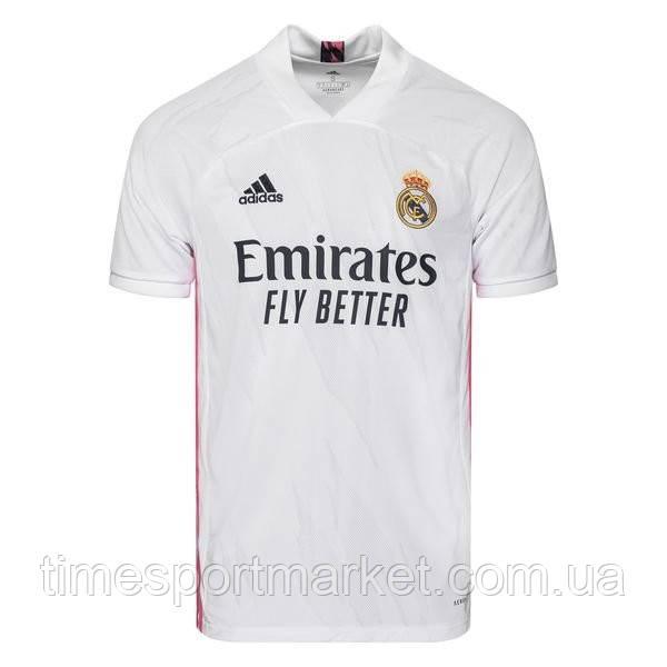 Футбольная форма Реал Мадрид  2020-2021 белая домашняя (Реплика)