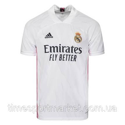 Футбольная форма Реал Мадрид  2020-2021 белая домашняя (Реплика), фото 2