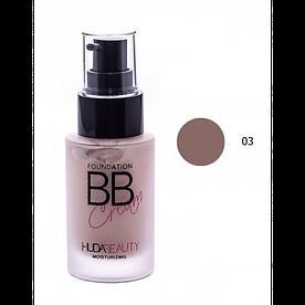 Тональная основа HUDA Beauty Foundation BB Cream № 03