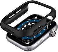 Чехол Spigen для Apple Watch SE / 6 / 5 / 4 (40mm) - Thin Fit, Black (061CS24484)