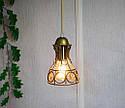 Підвісна люстра на 5 ламп RINGS-5 E27 золото, фото 3