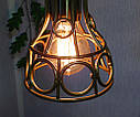 Підвісна люстра на 5 ламп RINGS-5 E27 золото, фото 5