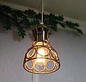 Підвісна люстра на 5 ламп RINGS-5 E27 золото, фото 8