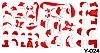Слайдер дизайн (водная наклейка) для ногтей  Y-024