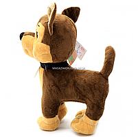М'яка іграшка Копиця «Щеня Товариш», хутро штучне, 32 см (00012-5), фото 4