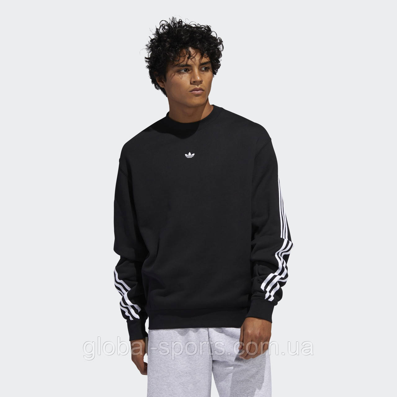 Мужской свитшот Adidas 3-Stripes Wrap (Артикул:FM1522)