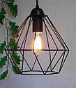 Подвесная люстра на 3-лампы CLASSIC/SP-3 E27 чёрный, фото 2
