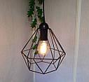 Подвесная люстра на 3-лампы CLASSIC/SP-3 E27 чёрный, фото 4