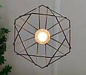 Подвесная люстра на 3-лампы CLASSIC/SP-3 E27 чёрный, фото 6