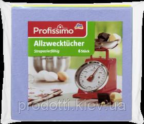 Тряпки для уборки универсальные Profissimo Allzwechtucher 6 штук prodotti.kiev.ua