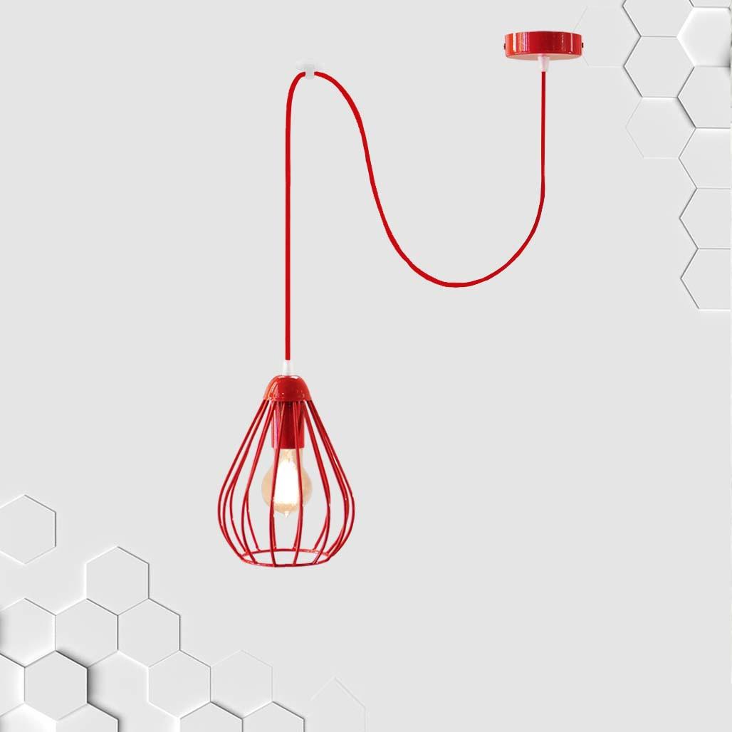 Подвесной светильник на 1-лампу FANTASY/SP-R E27 красный
