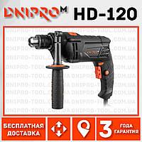 Дрель ударная Dnipro-M HD-120