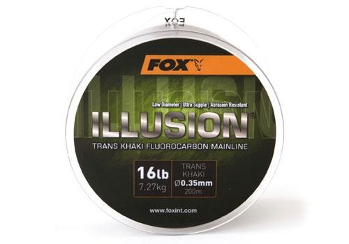 Леска флюрокарбоновая Fox Edges Illusion Soft Mainline