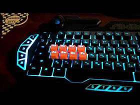 Клавіатура A4Tech B318 Bloody Black USB, фото 3