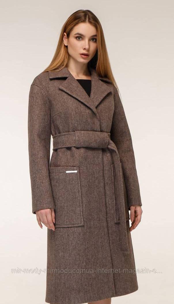 Пальто  демисезонное женское арт 1271 с 44 по 54 размер тон 3 (фт)