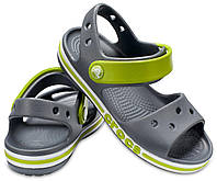 Босоножки сандалии детские Crocs Kids Bayaband Sandal С9 крокс оригинал серые