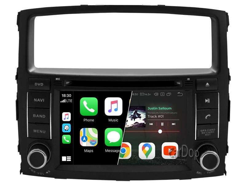 Штатная магнитола Mitsubishi Pajero Wagon (V8) 2006-2015 CarPlay DVD