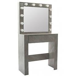 Туалетный столик с подсветкой Bonro- B070 серый