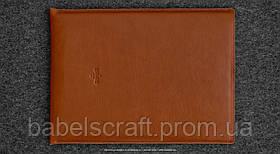 Чехол кожаный HandWers для MacBook 11 (2015) HIKE коричневый