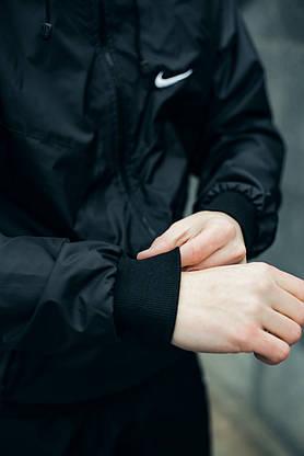 Анорак Nike President Чоловічий Чорний найк вітровка, фото 2