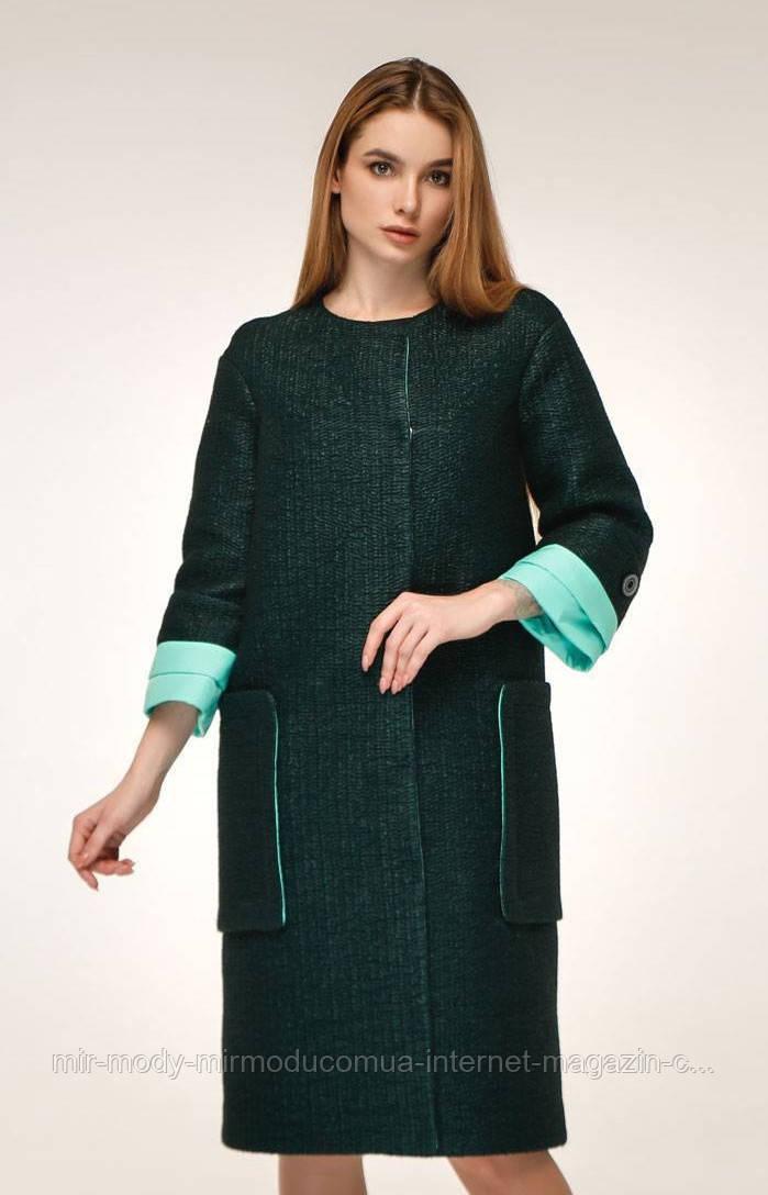 Пальто демісезонне жіноче В-1179 Cost Тон 10 (5 кольорів) з 44 по 54 розмір (фт)