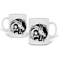 Кружка Тихиро Огино Сен і Хаку Віднесені примарами (Spirited Away) 330 мл Чашка Керамічна (20259-2647), фото 1