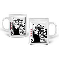 Кружка Безликий Бог Каонаси Унесённые призраками (Spirited Away) 330 мл Чашка Керамическая (20259-2648) , фото 1