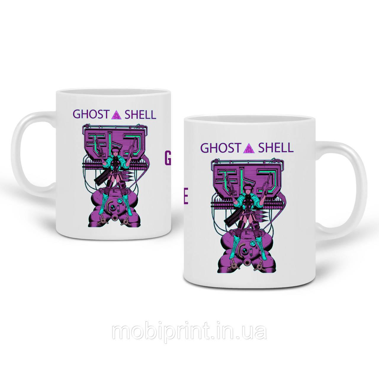 Кружка Мотоко Кусанаги Привид в обладунках (Ghost in the Shell) 330 мл Чашка Керамічна (20259-2652)