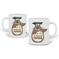 Кружка Мой сосед Тоторо (My Neighbor Totoro) 330 мл Чашка Керамическая (20259-2656) , фото 1