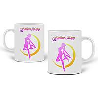 Кружка Сейлор Мун (Sailor Moon) 330 мл Чашка Керамічна (20259-2658), фото 1