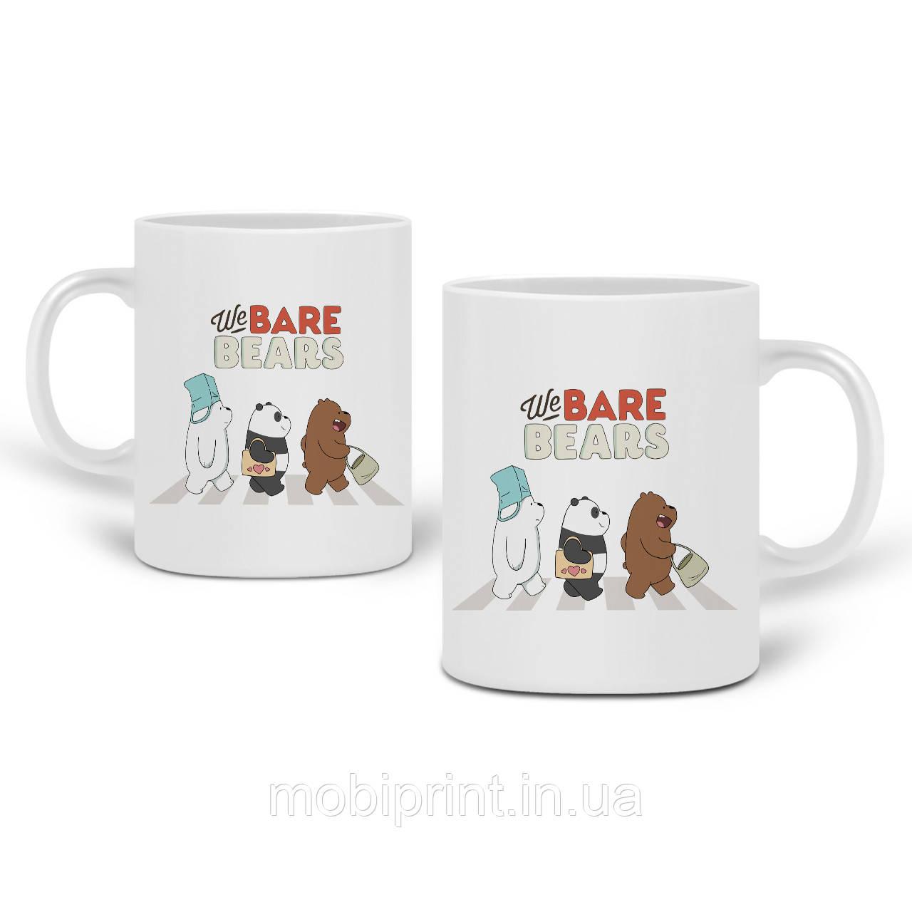 Кружка Вся правда о медведях (We Bare Bears) 330 мл Чашка Керамическая (20259-2666)