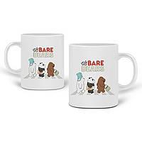Кружка Вся правда о медведях (We Bare Bears) 330 мл Чашка Керамическая (20259-2666) , фото 1