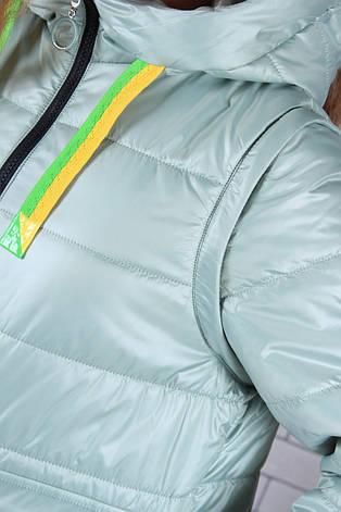 Подростковая куртка для девочки р.134-164 опт, фото 2