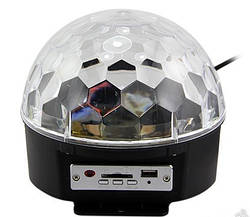 Светомузыка диско шар Magic Ball Music  YX-024