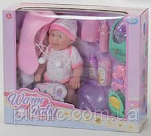 Пупс с одеждой для девочки от 3 лет Детская кукла пупсик подарок для ребенка