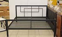 Кровать двухспальная в стиле Лофт, ЛЛ9