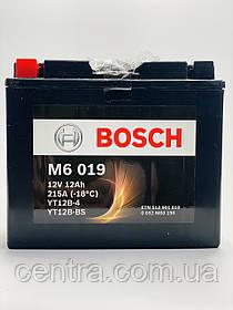 Мото аккумулятор Bosch YT12-BS (0092M60190) AGM 12V 12AH 215A