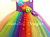 Сукня ту-ту з фатину Веселка, фото 5
