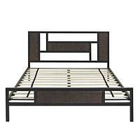 Кровать двухспальная в стиле Лофт, ЛЛ10
