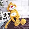 Вязаная обезьяна Бася