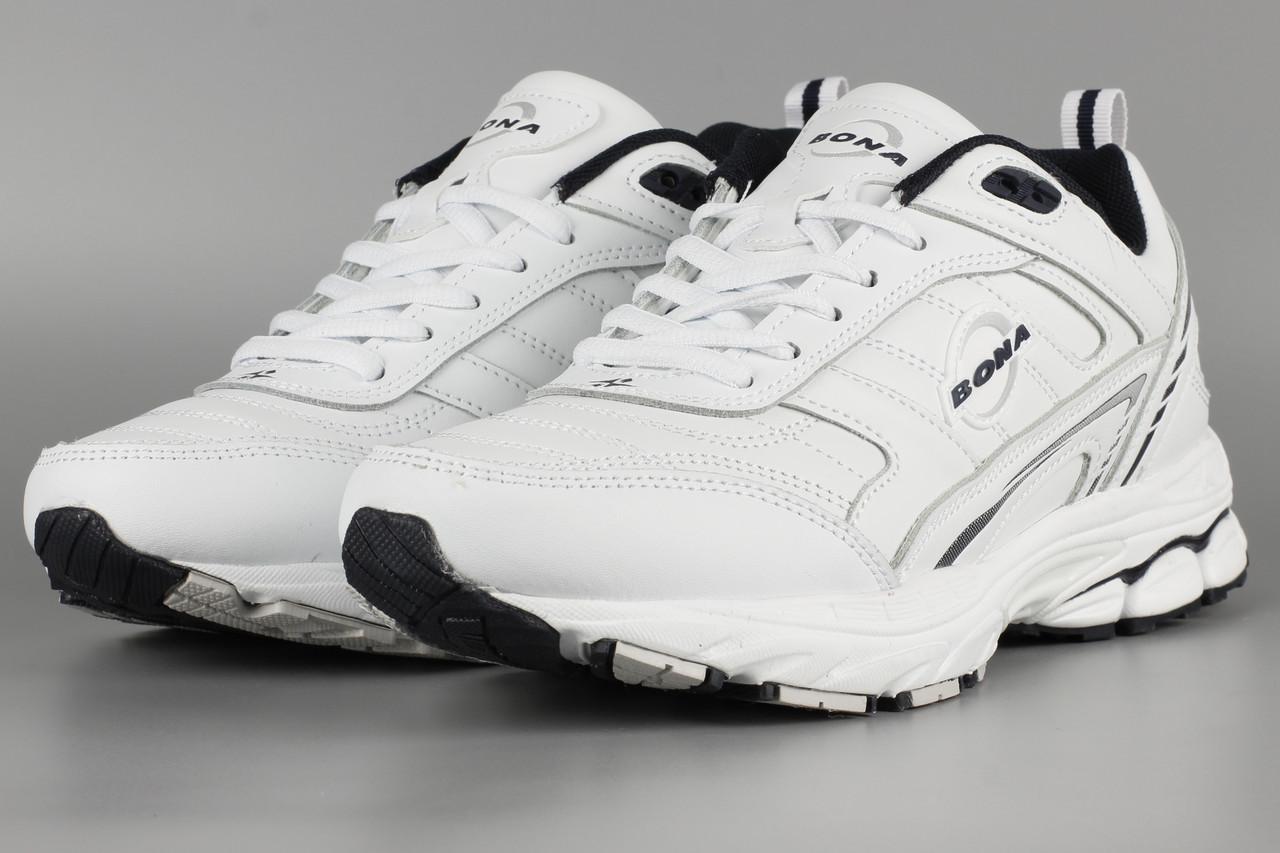 Кросівки унісекс жіночі білі Bona 805A-2 Бона Розміри 36 38 41