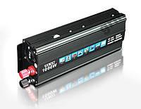 Преобразователь напряжения авто инвертор UKC 24V-220V 1000W автомобильный преобразователь