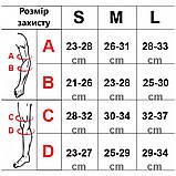 Захист дитячий комплект SPORTVIDA Наколінники налокітники рукавички EVA PU Чорний-сірий (SV-KY0007) S, фото 8