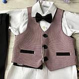 Детский нарядный костюм на мальчика 714. Размер 68 см, фото 2