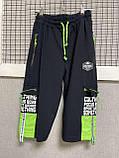 Трикотажные шорты капри   для мальчика 140-164см, фото 4