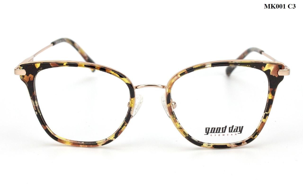 Женские фотохромные очки с диоптриями плюс/минус