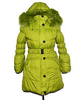 Курточка на девочку Зимняя 140-152, фото 1